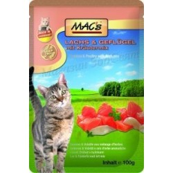 MACs пауч за котки - сьомга...