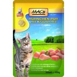 MACs пауч за котки - пиле...