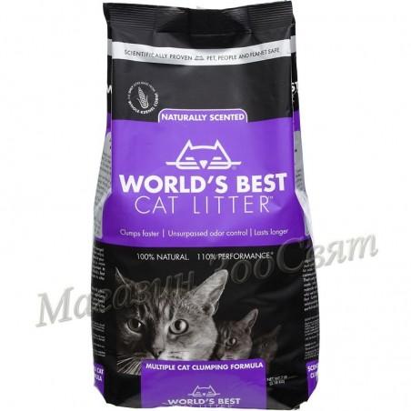 World's Best Cat Litter Lavanda / Царевична котешка тоалетна лавандула