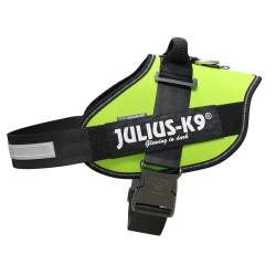 Julius-K9  нагръдник за едри и средни породи кучета - неон.