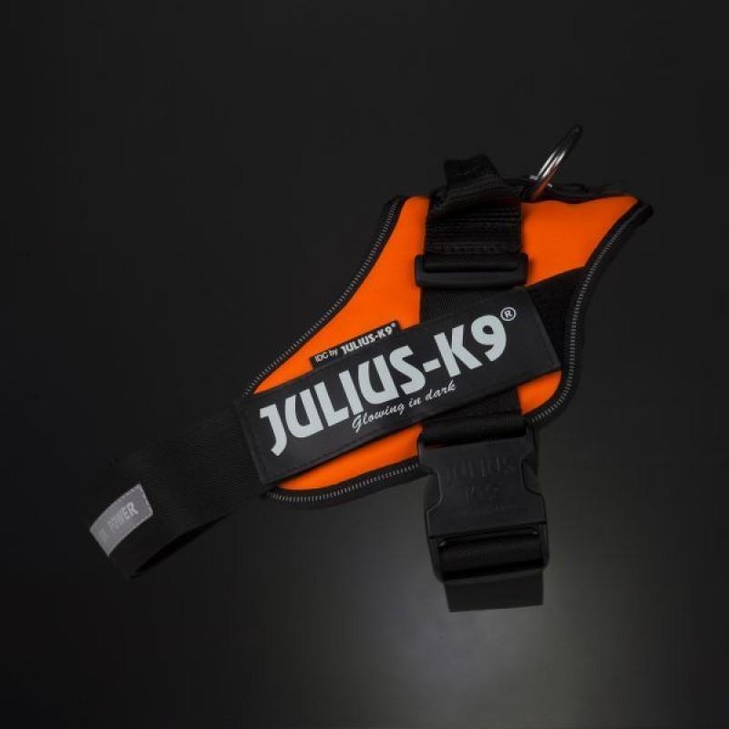 Julius-K9  нагръдник за едри и средни породи кучета - оранжев.