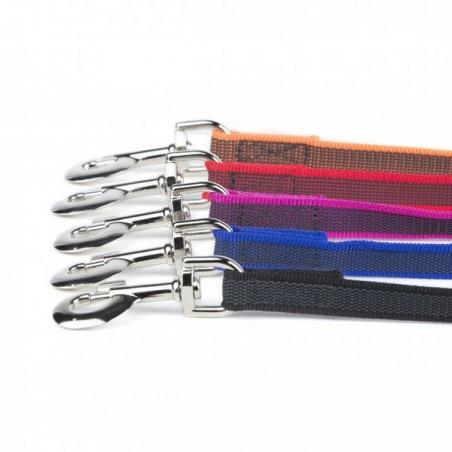 Гумиран повод IDC® Color&Gray Super Grip – 20мм  / 4 цвята, 3 дължини /