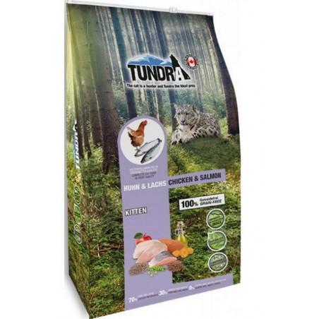 Tundra Kitten salmon & chicken grainfree / прясно пиле и сьомга за подрастващи котенца