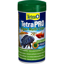 Tetra Pro Algae 25g.-10L / Храна за рибки Тетра про алджи