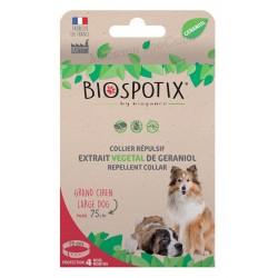 Biospotix 75cm натурална противопаразитна каишка