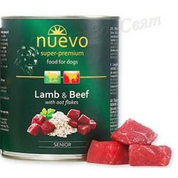 Nuevo senior Lamb & Beef...