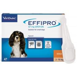 Virbac EffiPro Spot On  2-10 kg