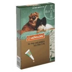 Bayer Advocate DOG до 4кг /...