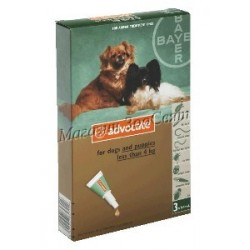 Bayer Advocate DOG до 4кг /...